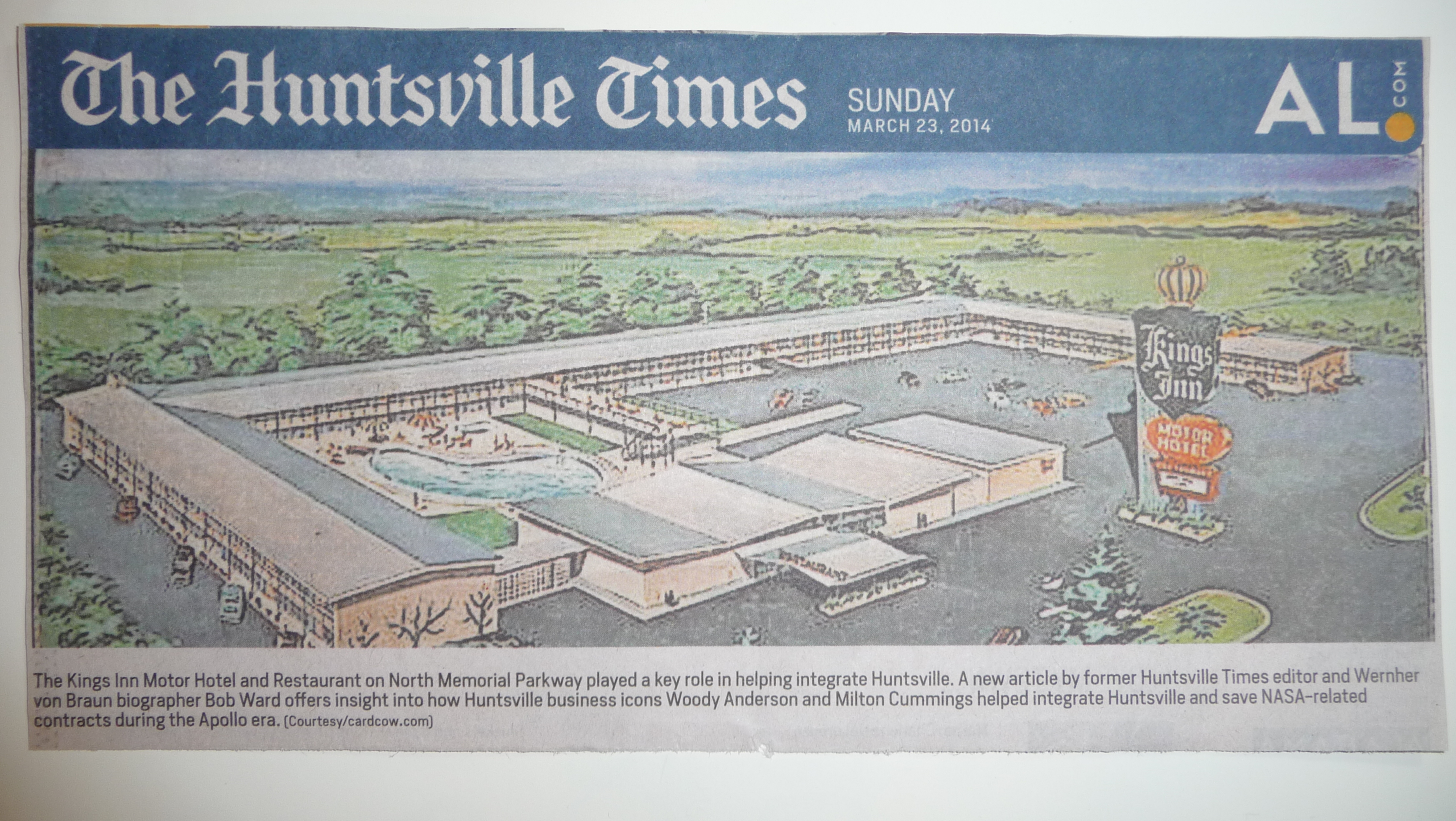 Huntsville Times News for Kings Inn.JPG
